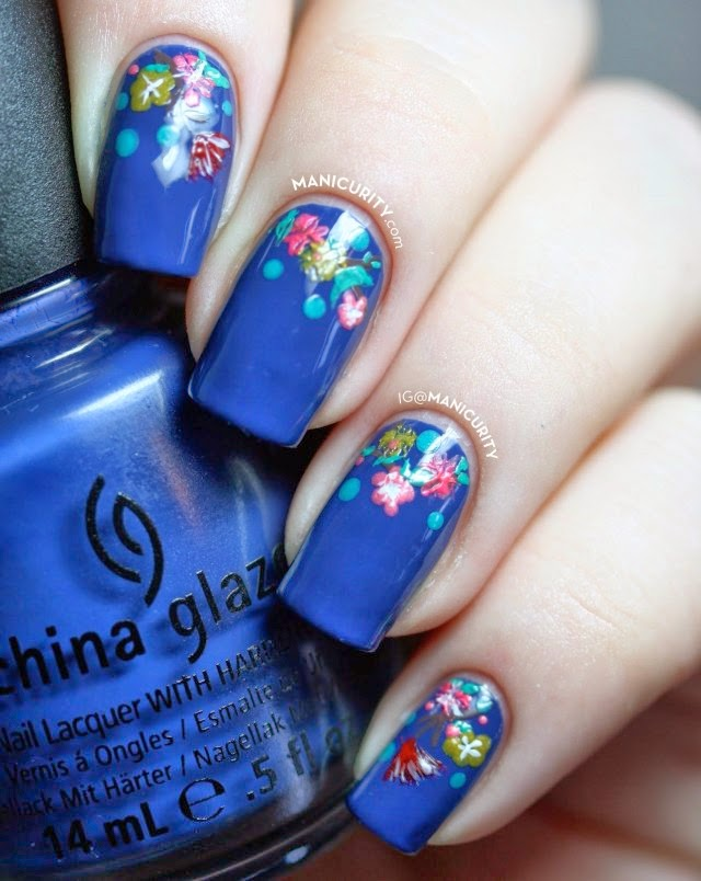 The Enchanting Spring nail designs 2015 Images