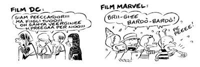 Ortolani DC Marvel