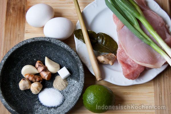 Soto Ayam Indonesisch zutaten