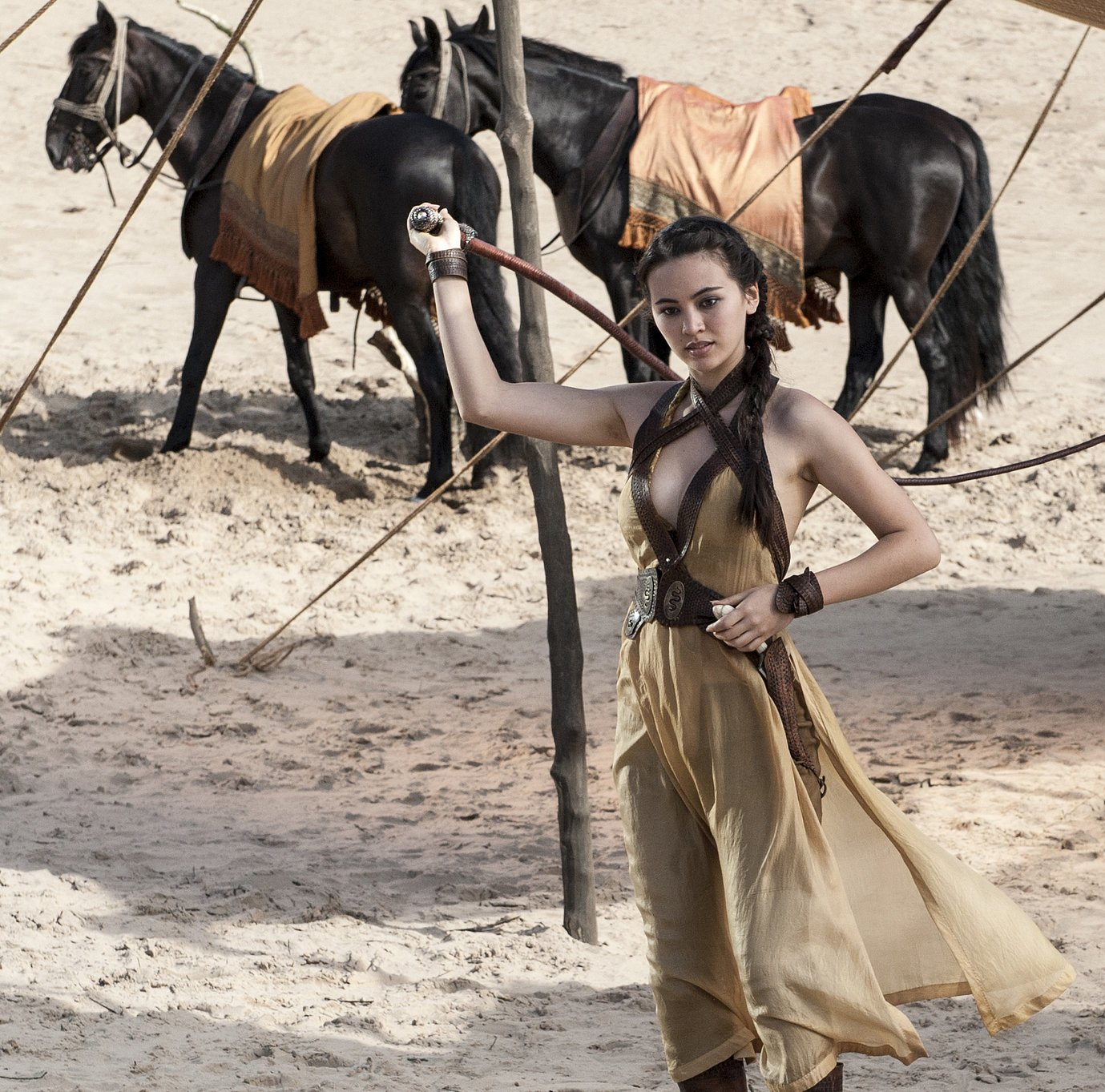 Jessica Henwick as Nymeria Sand, Oberyn's second-oldest daughter who is deadly with a whip in Game Of Thrones Season 5