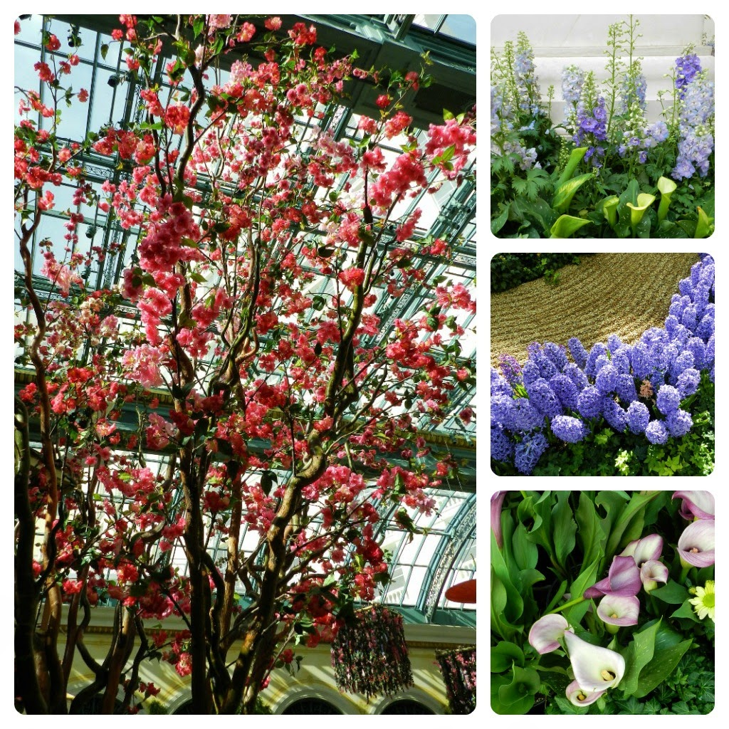 Bead and Needle: CHERRY BLOSSOM TIME at the BELLAGIO CONSERVATORY ...