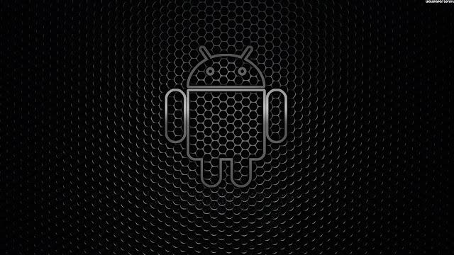 Logo Android Negro