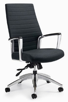 2670-4 Accord High Back Chair by Global