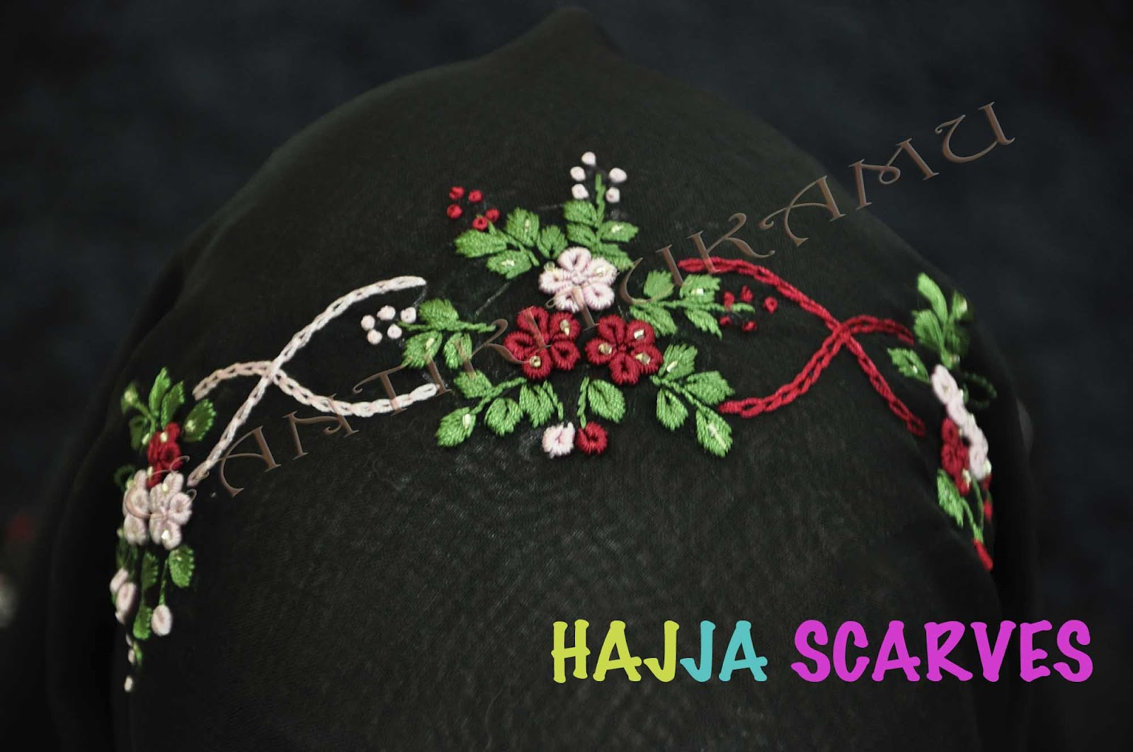 HAJJA SCAREVS-SOLD OUT-TQ!