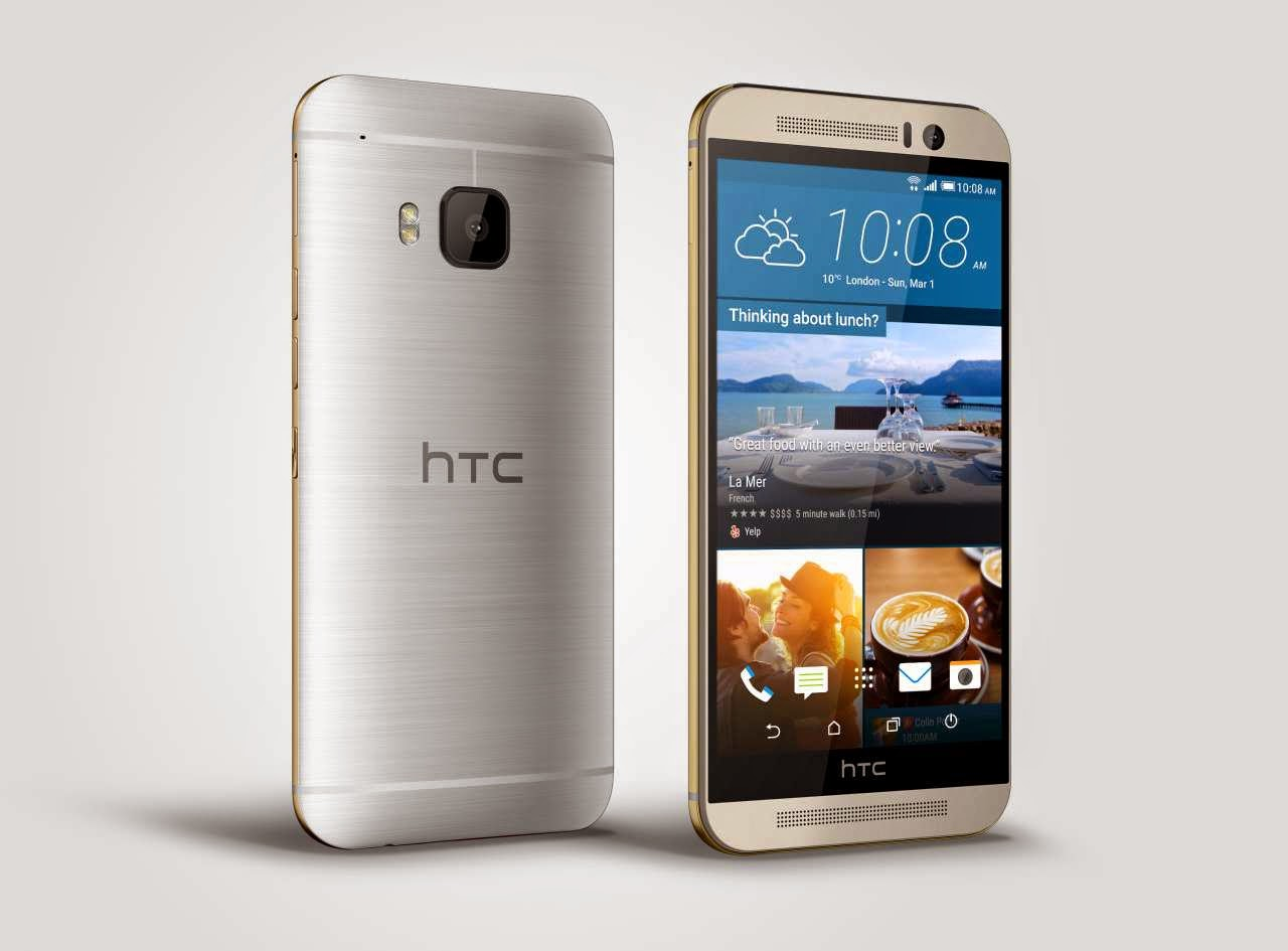 Spesifikasi Dan Harga HP Android HTC One M9 Quadcore Lollipop