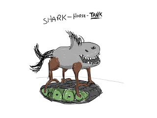 shark horse tank