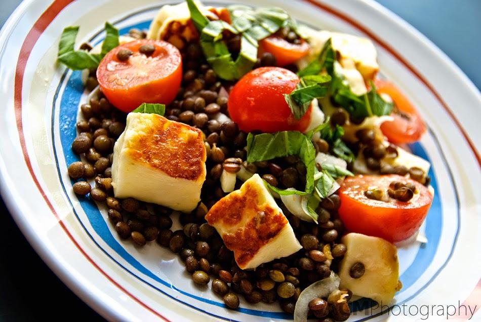 haloumi_lentil-salad