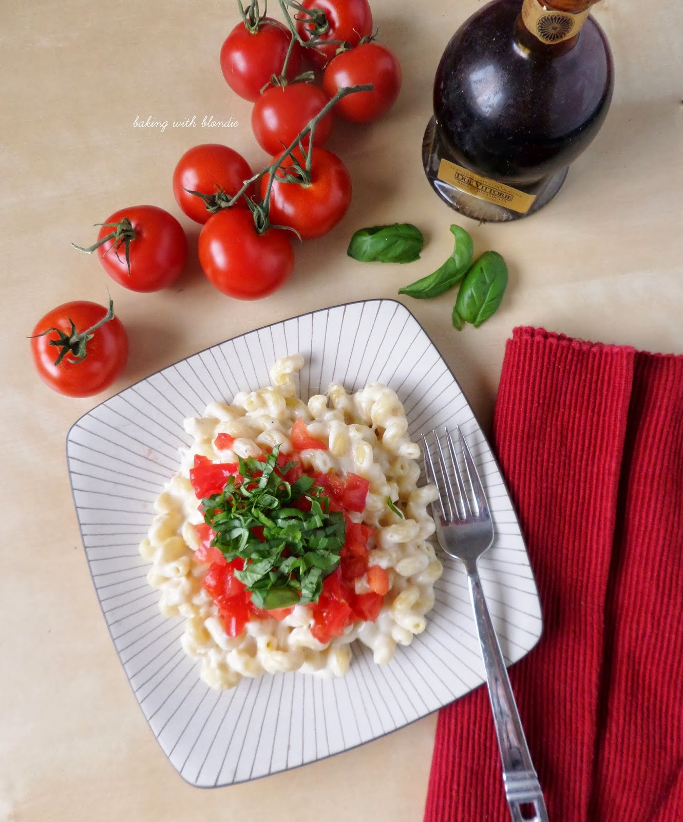 Caprese Mac & Cheese