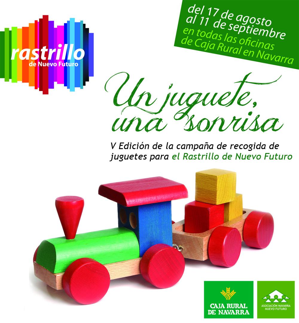 Campa a de recogida de juguetes colabora for Oficinas caja rural de navarra