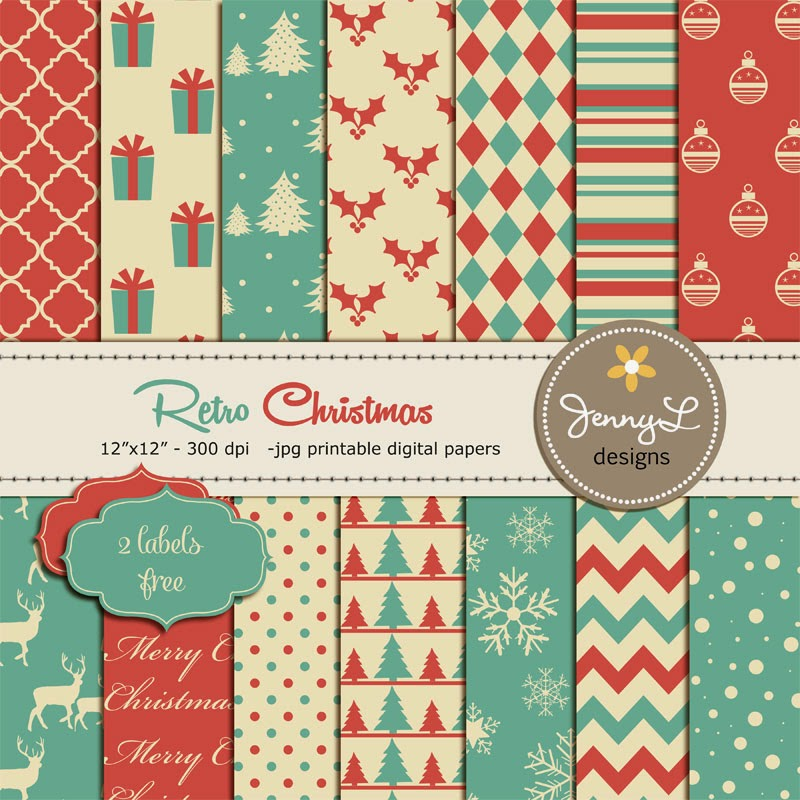 https://www.etsy.com/listing/211091583/christmas-digital-paper-retro-christmas?