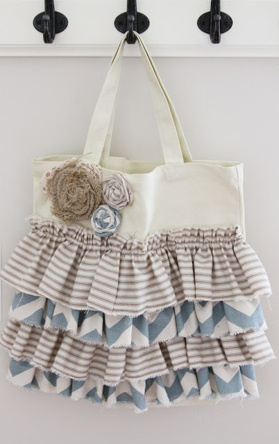 Embellished Tote Sewing Tutorial
