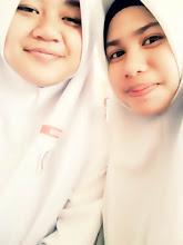 Qistina & Saya ♥