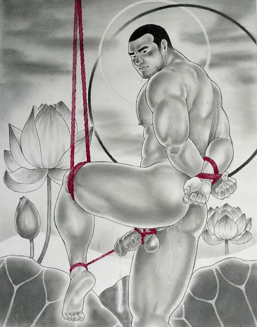 MALE DRAWING ART BLOG : TATSUYA NAOKI DRAWING