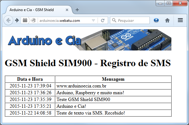 Página Web - PHP