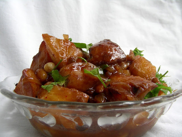 Nimmy 39 s kitchen kung pao potatoes for Am asian cuisine