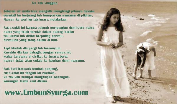 Puisi Kehilangan Orang yang Dicintai