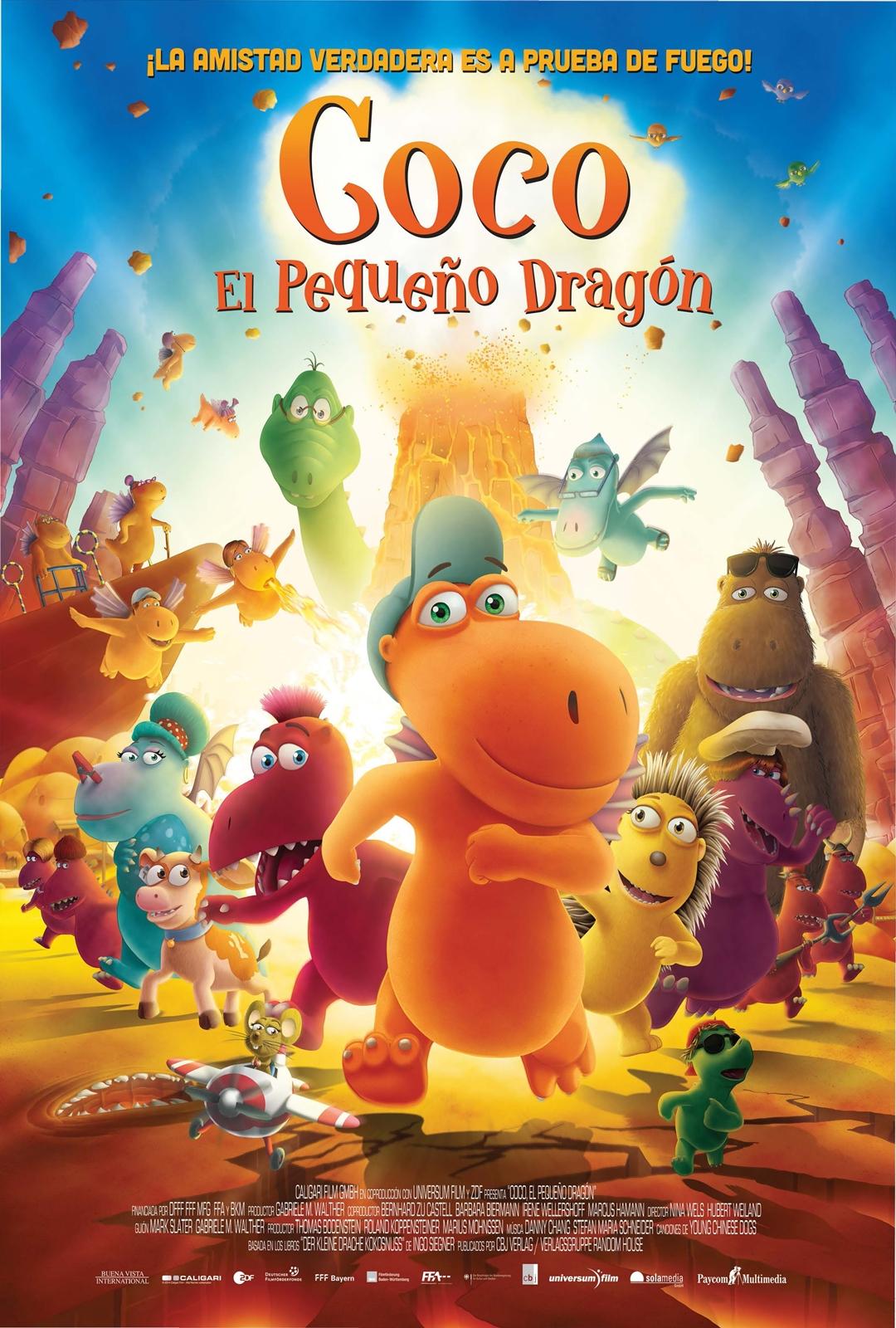 Coco, el pequeño dragón (2014)