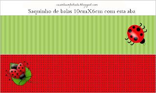 Kit Festa Joaninha Para Imprimir Grátis