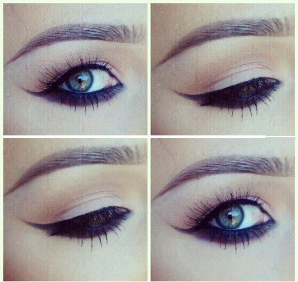 mujer con estilo tips de maquillaje para ojos con