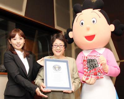 Sazae san record Guinness serie mas longeva