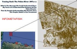 Penemuan Sungai Purba, Perkuat Dugaan Benua Atlantis Itu Indonesia?