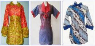 model pakaian batik terkini