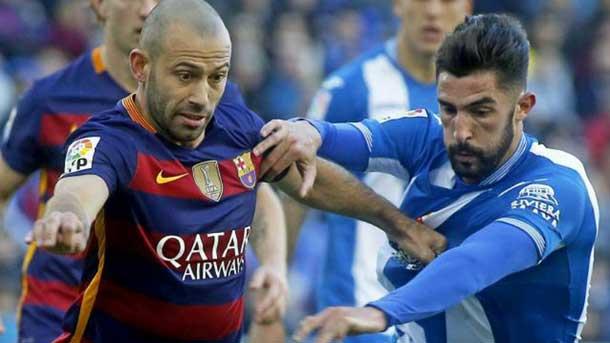 Mascherano, orgulloso por el pase a cuartos en Copa del Rey