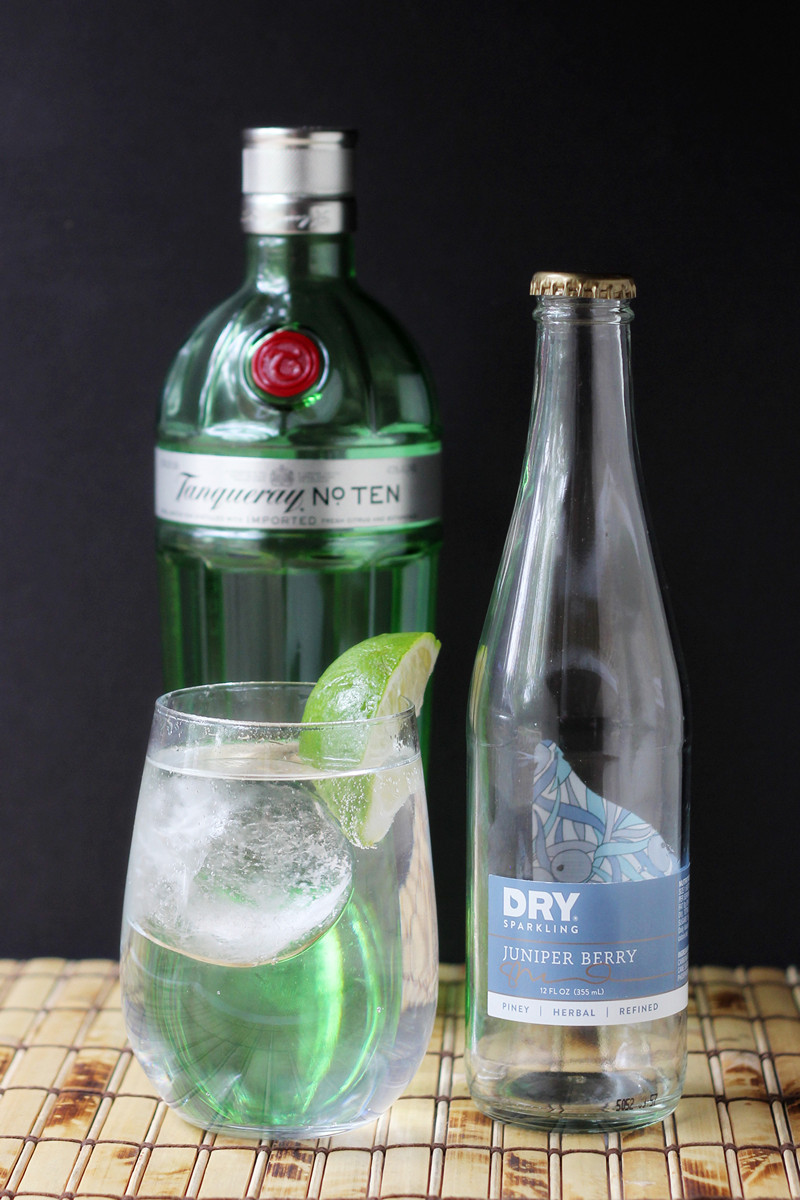 cookistry gin and dry juniper soda a light and summery. Black Bedroom Furniture Sets. Home Design Ideas