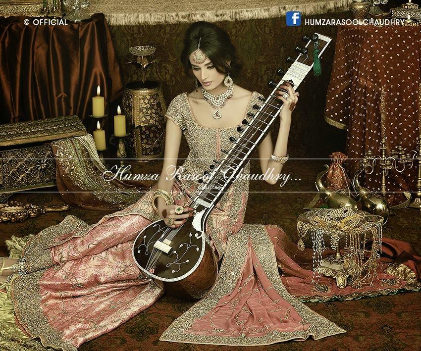 Humza Rasool Bridal Collection