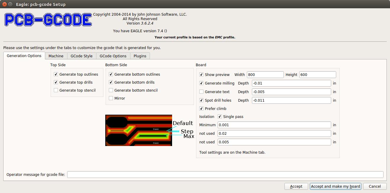 Maker Projects: CNC Eagle PCB File Configuration
