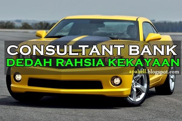 Consultant Bank Dedah Rahsia Kejayaan
