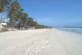 Una playa paradisiaca en Venezuela