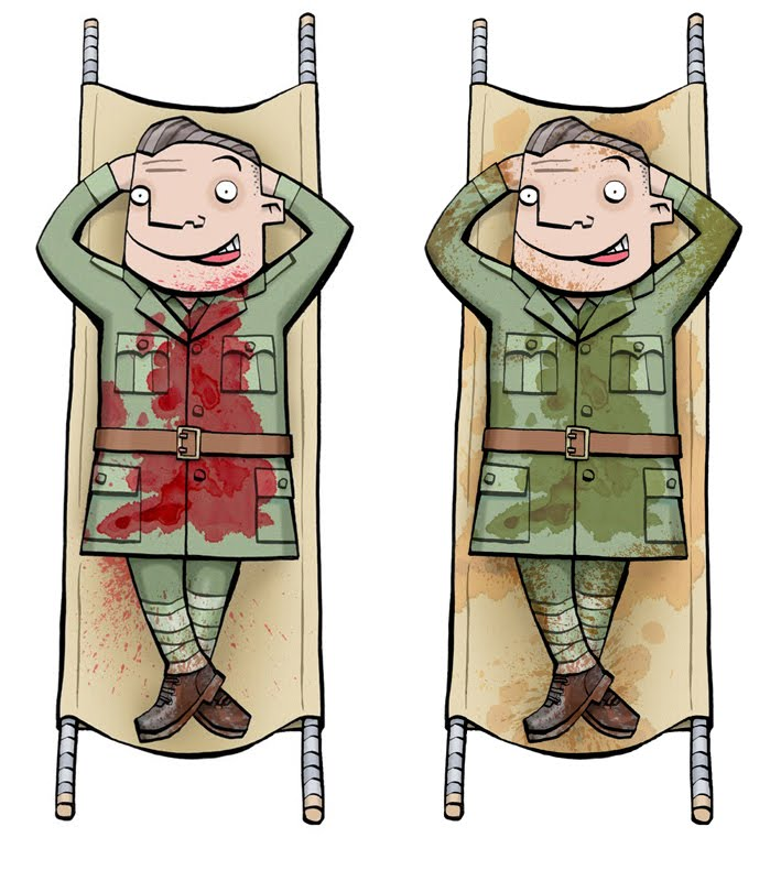 Soldiers In The WW2 Trenches Sometimes Wished For A Blighty Wound That Was Serious Enough To Be Sent Home