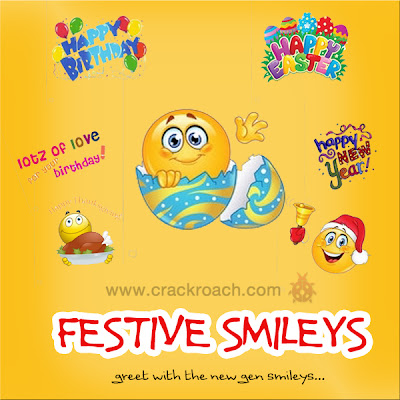 Largest Collection of Facebook Chat codes for Latest Smileys & Emoticons festive occasion crackroach