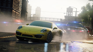New NFS Most Wanted Wallpapers