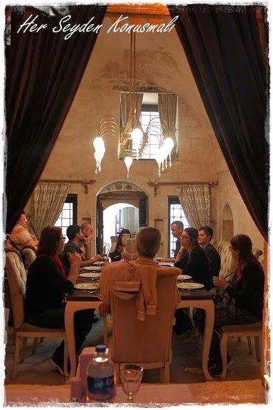 Bağdadi Restaurant'ta yemek