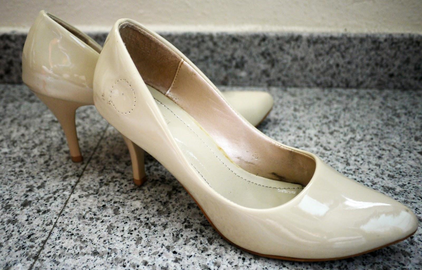 My Solitaire Wedding Wedding Shoes DIY