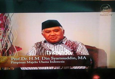 Nabawi TV di Satelit Palapa d