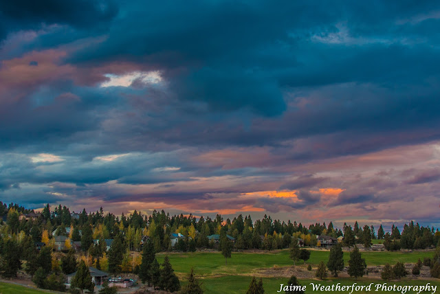 Bend oregon Halloween Sunset Fall Jaime Weatherford