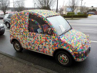 el coche sopa de letras