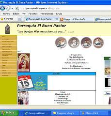 Pagina web parroquial