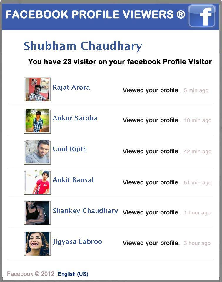 how to see visitors on facebook profile