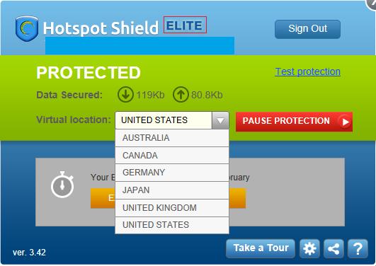 Hotspot Shield Crack 3.42 Free Download