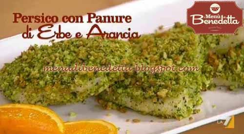 Ricette della torta persico con panure di erbe e arancia - Cucinare pesce persico ...