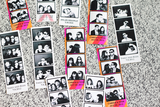 True Photobooth Photo Strips