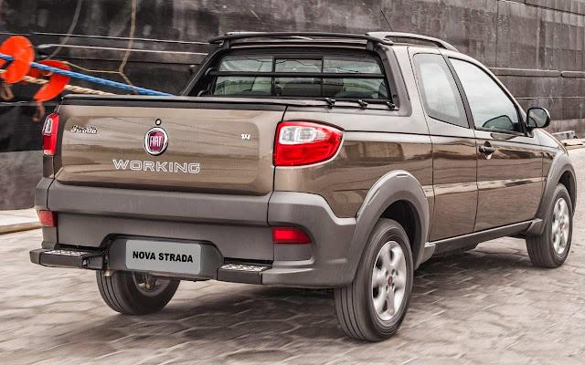 Nova Fiat Strada 2014 Working