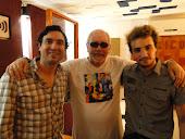 Con Hugo Araujo y Leonardo Andersen