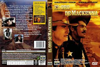 Carátula dvd: El oro de Mackenna