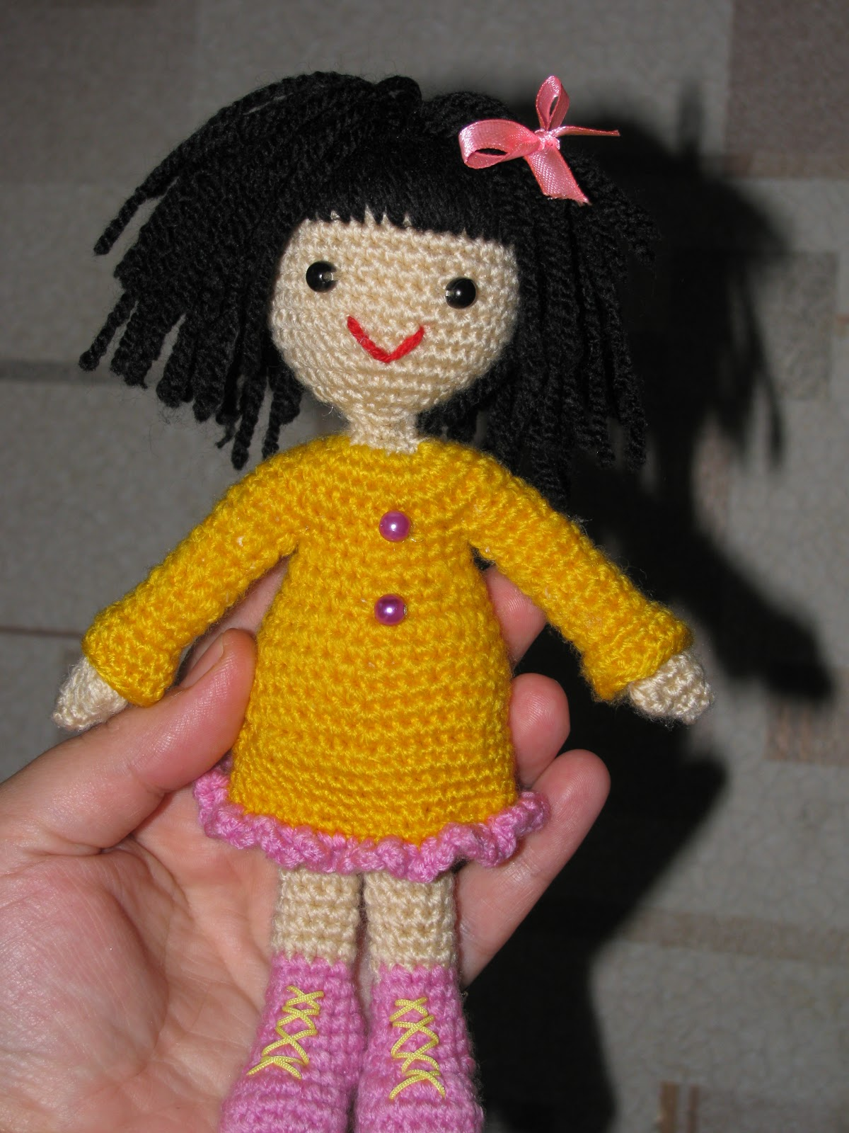 Вязание крючком как связать куклу