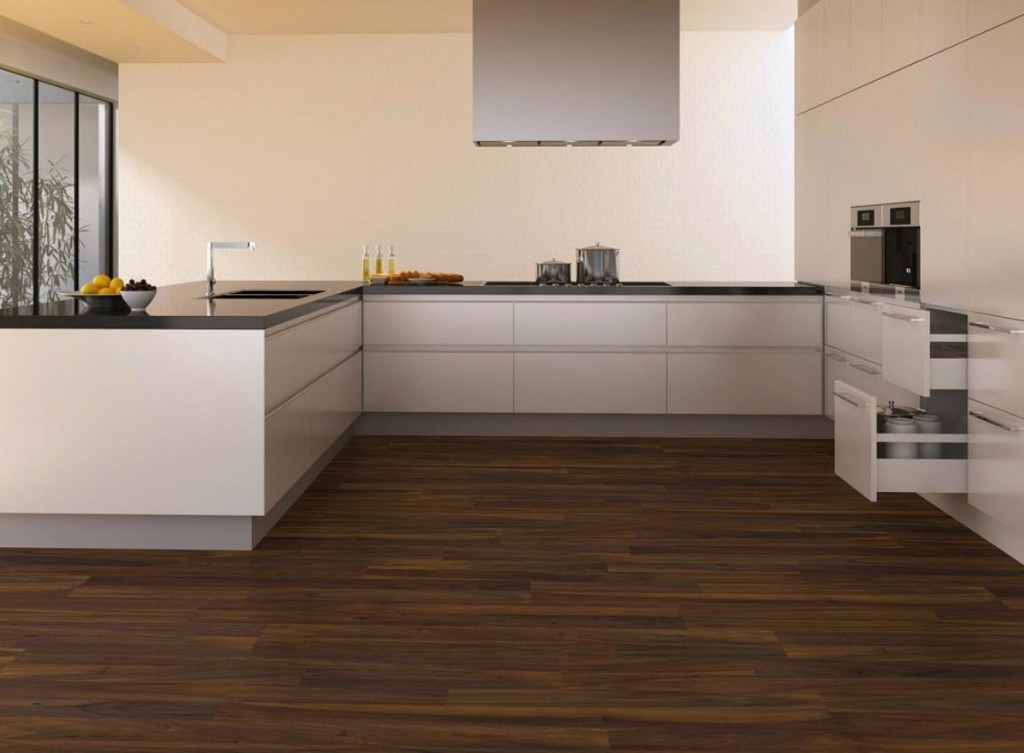 Modern laminate floor design with contemporary interiors for Modern home flooring